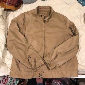 Banana Republic garment dye bomber jacket
